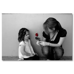 Αφίσα (μαύρο, λευκό, άσπρο, τριαντάφυλλο, κόκκινος)